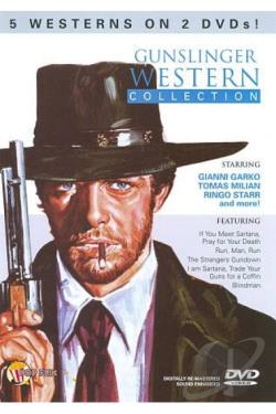 Gunslinger Western Collection DVD Cover Art