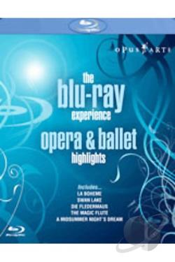 Blu-ray Experience - Opera and Ballet Highlights BRAY Cover Art
