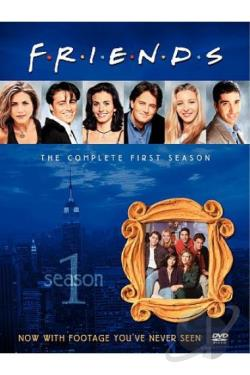 Friends - The Complete First Season DVD Cover Art
