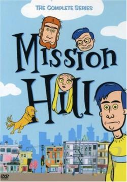 Mission Hill - The Complete Series DVD Cover Art