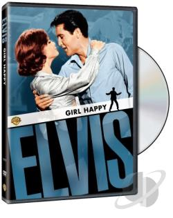 Girl Happy DVD Cover Art
