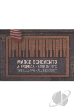 Marco Benevento: Live in NYC - The Sullivan Hall Residency DVD Cover Art