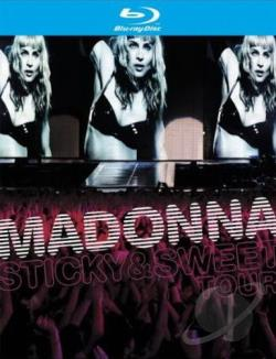 Madonna: Sticky & Sweet BRAY Cover Art