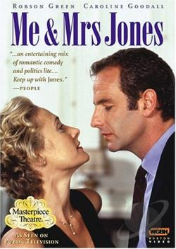 Masterpiece Theatre - Me and Mrs. Jones DVD Cover Art