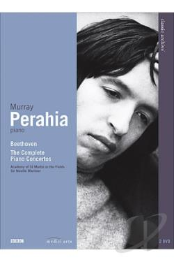 Murray Perahia - Beethoven - The Complete Piano Concertos DVD Cover Art
