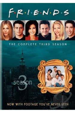 Friends - The Complete Third Season DVD Cover Art