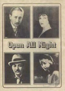 Open All Night DVD Cover Art