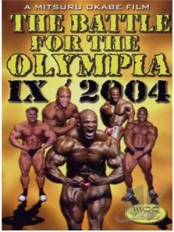 Battle for the Olympia 2004 IX DVD Cover Art