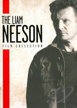Liam Neeson Film Collection DVD Cover Art