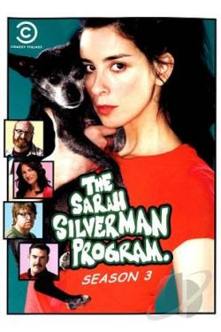 Sarah Silverman Program: Season 3 DVD Cover Art