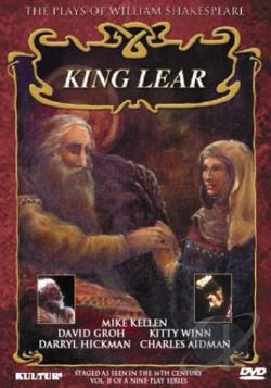King Lear DVD Cover Art