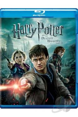 Harry Potter and the Deathly Hallows: Part II BRAY Cover Art