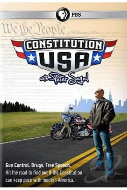 Constitution USA with Peter Sagal DVD Cover Art