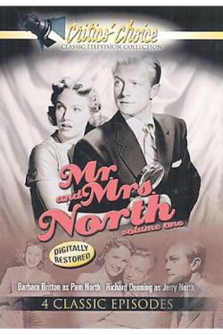 Mr. & Mrs. North - Vol. 1 DVD Cover Art