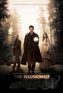 Illusionist DVD Cover Art