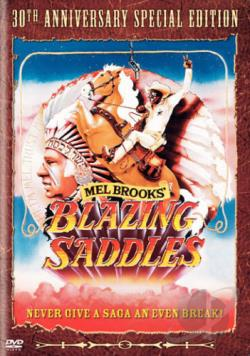Blazing Saddles DVD Cover Art