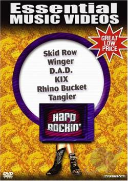 Essential Music Videos - Hard Rockin' DVD Cover Art