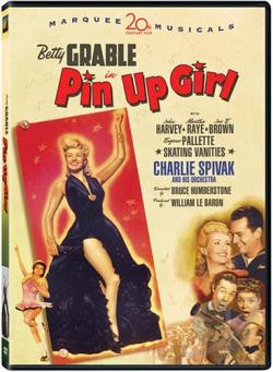 Pin Up Girl DVD Cover Art