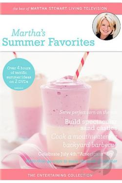 Martha's Summer Favorites DVD Cover Art