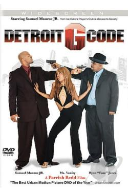 Detroit G Code DVD Cover Art