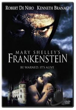 Mary Shelley's Frankenstein DVD Cover Art
