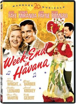 Week-End in Havana DVD Cover Art