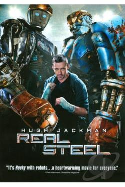 Real Steel DVD Cover Art