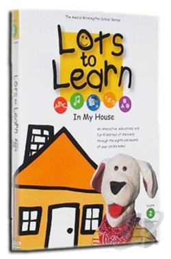 Lots to Learn - In My House DVD Cover Art