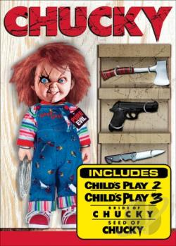 Chucky: The Killer DVD Collection DVD Cover Art