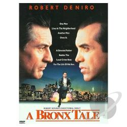 Bronx Tale DVD Cover Art