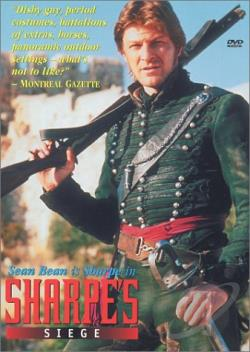 Sharpe's Siege DVD Cover Art