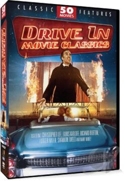 Drive-In Classics - 50 Movie Pack DVD Cover Art