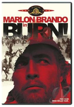 Burn! DVD Cover Art