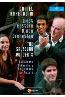 Daniel Barenboim/West Eastern Divan Orchestra: The Salzburg Concerts DVD Cover Art