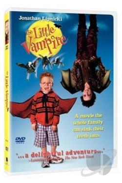 Little Vampire DVD Cover Art