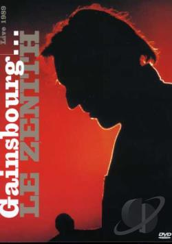 Serge Gainsbourg: Le Zenith de Gainsbourg DVD Cover Art