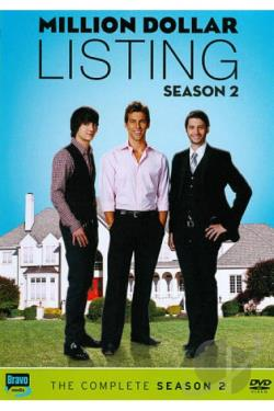 Million Dollar Listing: Season 2 DVD Cover Art