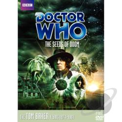 Doctor Who - Seeds of Doom DVD Cover Art