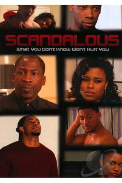 Scandalous DVD Cover Art