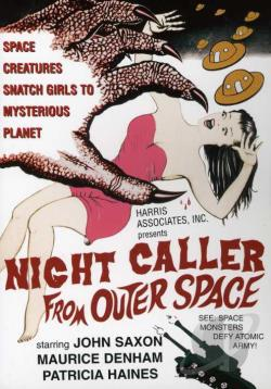 Night Caller From Outer Space DVD Cover Art