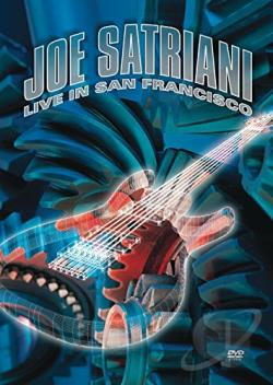 Joe Satriani - Live in San Francisco DVD Cover Art