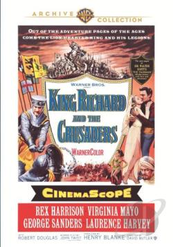 King Richard and the Crusaders DVD Cover Art