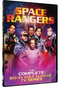 Space Rangers - The Complete Sci-Fi Cult Classic TV Series DVD Cover Art