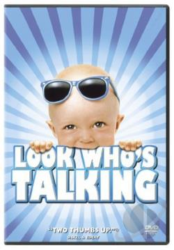Look Who's Talking DVD Cover Art