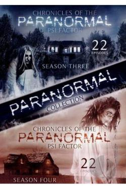 Psi Factor: Chronicles of the Paranormal - Seasons 3 and 4 DVD Cover Art