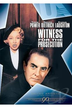 Witness for the Prosecution DVD Cover Art