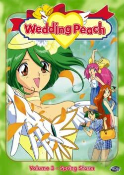 Wedding Peach - Vol. 3: Spring Storm DVD Cover Art