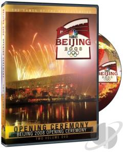 Bejing 2008 Olympics - Opening Ceremony DVD Cover Art