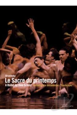 Stravinsky - Le Sacre Du Printemps DVD Cover Art