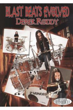 Derek Roddy: Blast Beats Evolved DVD Cover Art